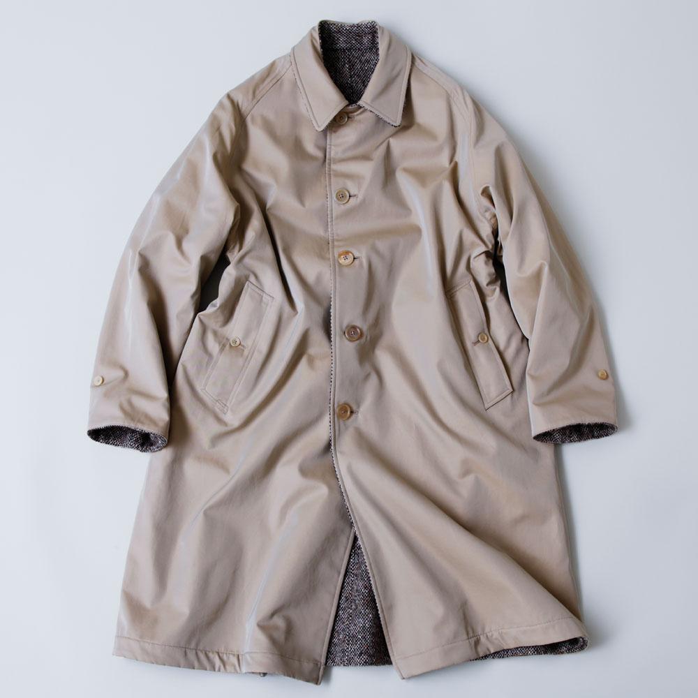 毎年、素材や柄が進化。アナトミカの冬の定番、ステンカラーコートが買い