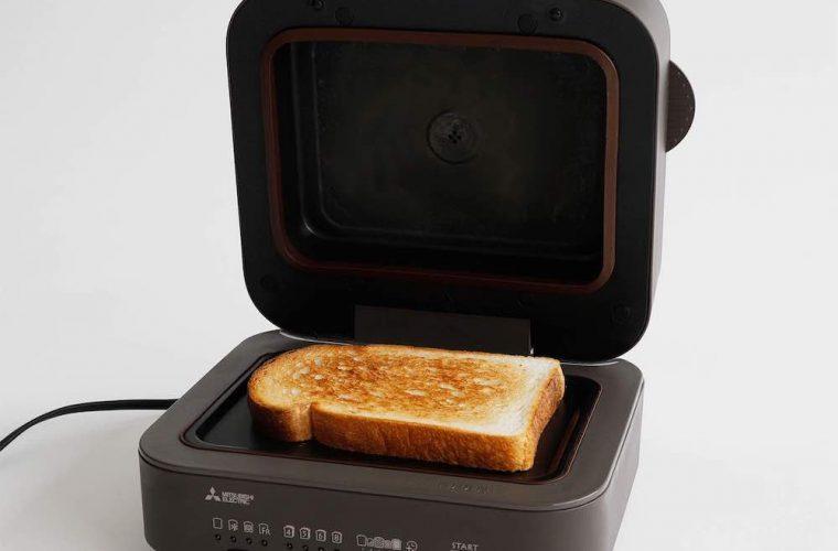 """ふわふわとろける""""生トースト""""が完成! 食パン好きにこそ試してほしい[三菱電機]のブレッドオーブン"""