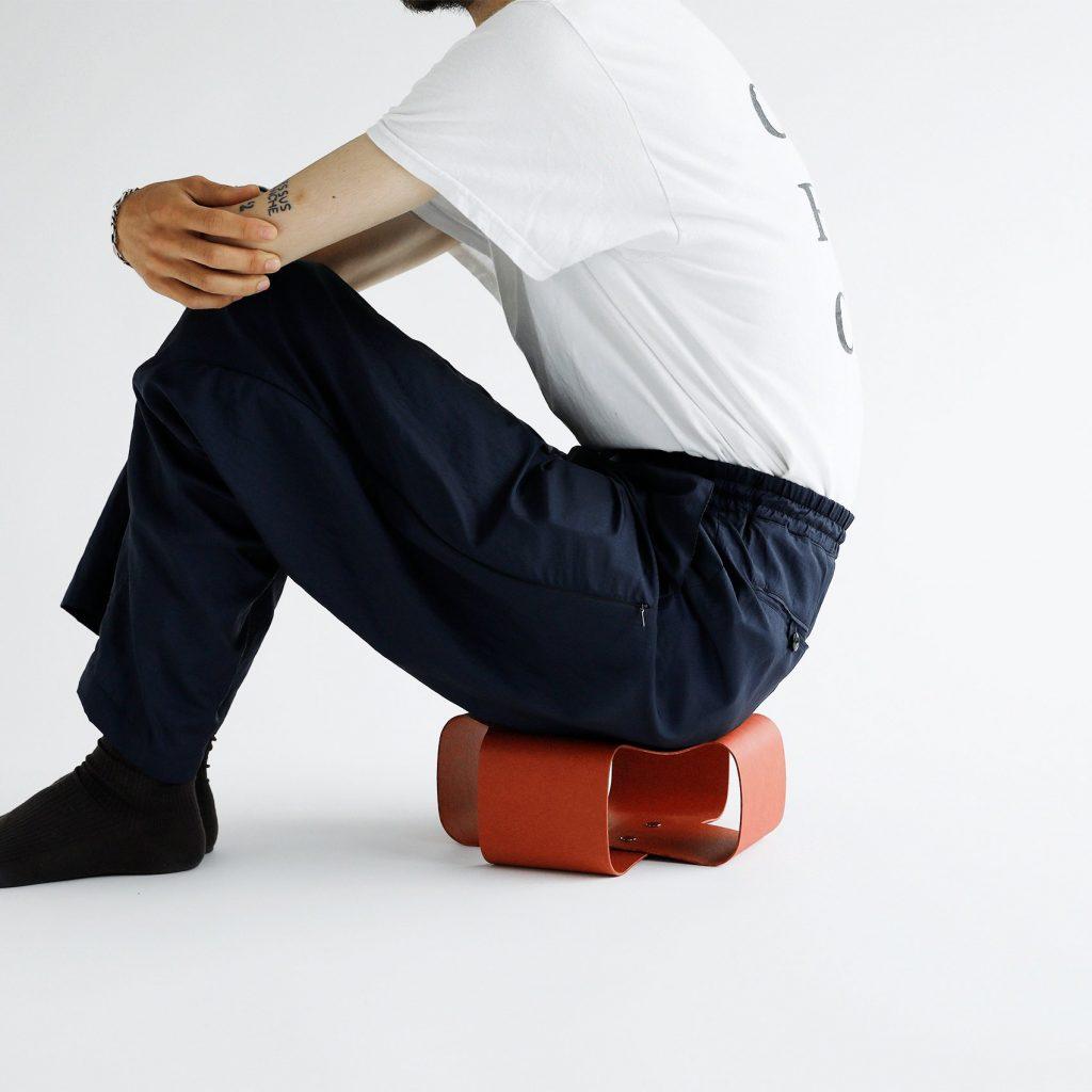 安達紙器工業 ペーパークッション 座椅子