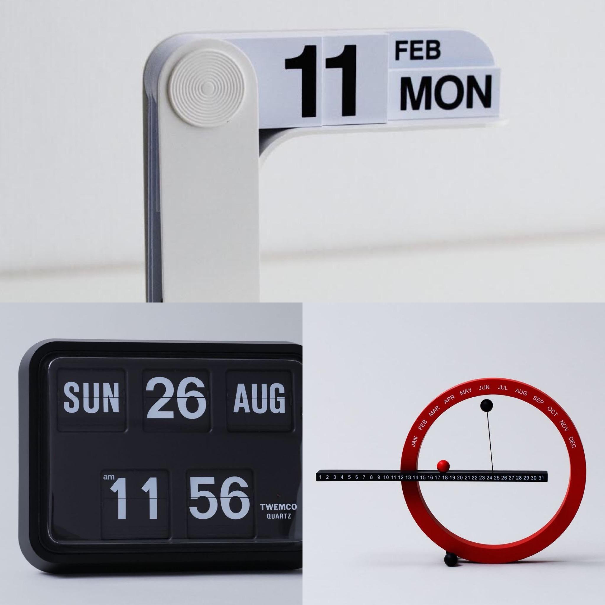 【万年カレンダー3選】オフィスのデスクに。新しい年に心機一転したいカレンダーは万年タイプが便利